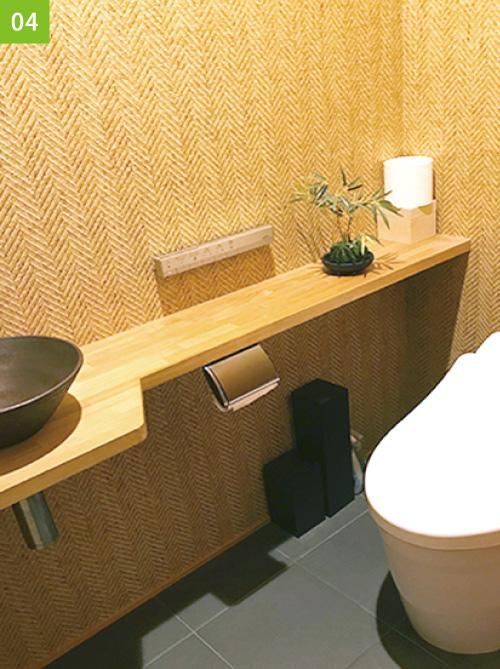 憧れの壁紙_トイレ