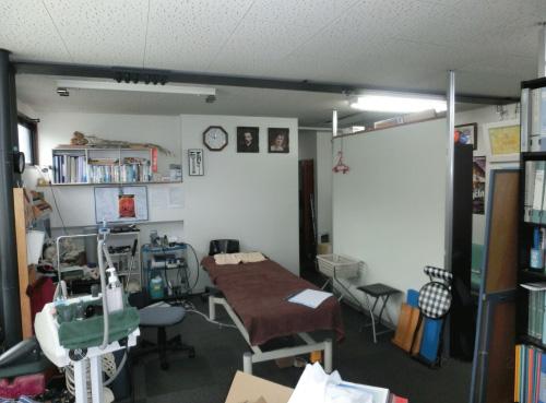 診療所の改修工事