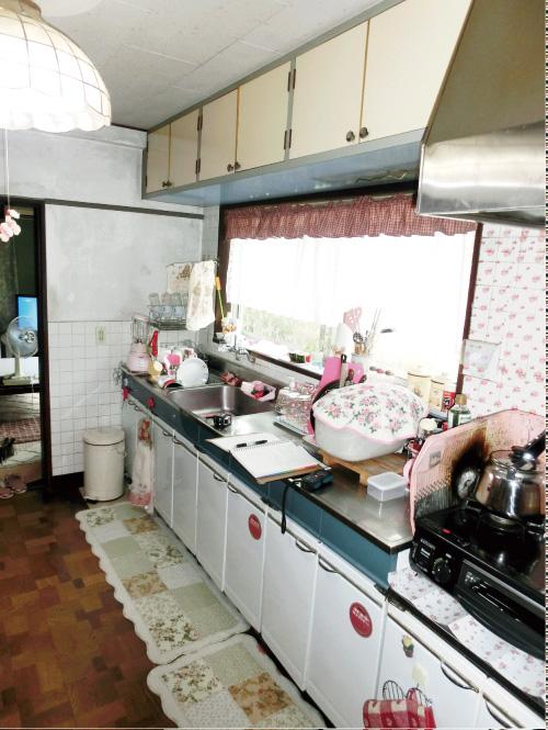 キッチンリビング工事