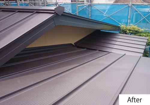 屋根改修after