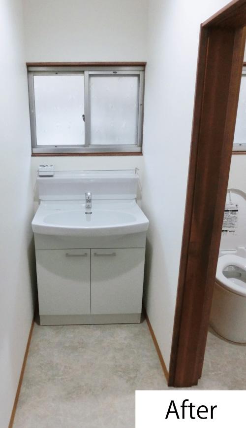 トイレ改修工事after2