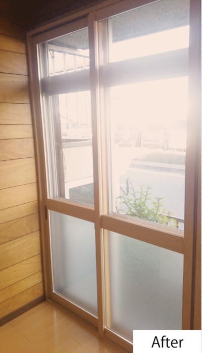 内窓設置after