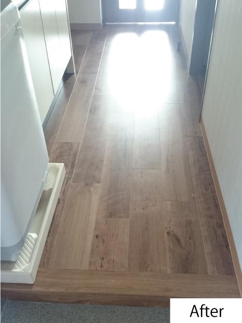 床の張替えafter
